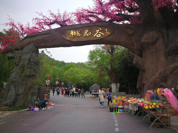 西安康辉旅行社商洛桃花谷风景区旅游
